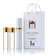 Подарочный парфюмерный набор с феромонами женский Angel Schlesser Essential (Ангел Шлессер Эссеншиал) 3x15 мл