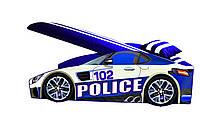 Ліжко Поліцейська -машинка Еліт 1570*736*57