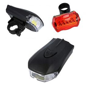 Набір велосипедних ліхтарів XBalog BL-508 чорний, фото 2