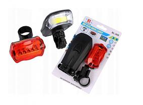 Набір велосипедних ліхтарів XBalog BL-508 чорний, фото 3