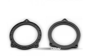 Проставки под динамики Carav 14-027 BMW 5-series (F10/F11) 2011+ (Rear doors 102mm) (Р24876)
