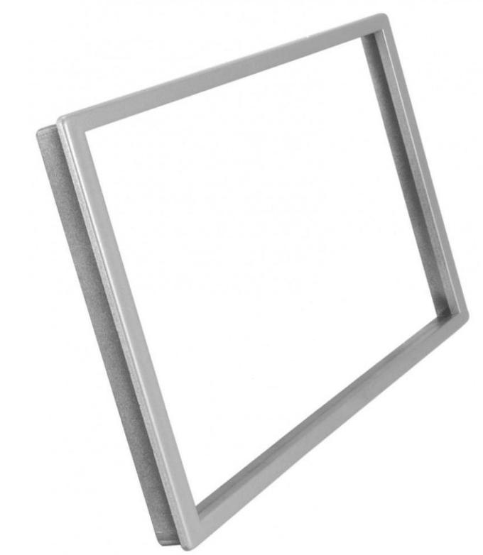 Рамка AWM 16-30 декоративная универсальная (наружн.-109х188, внутр-99х174мм) silver (Р25160)