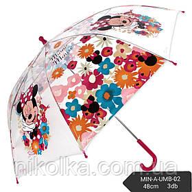 Зонты для девочек оптом, Disney, арт. MIN-A-UMB-02