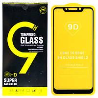 Защитное стекло 9D для Xiaomi Pocophone F1 (Black), фото 1