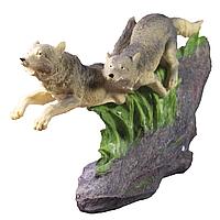 Статуэтка два волка