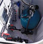 Замена песка в фильтре бассейна