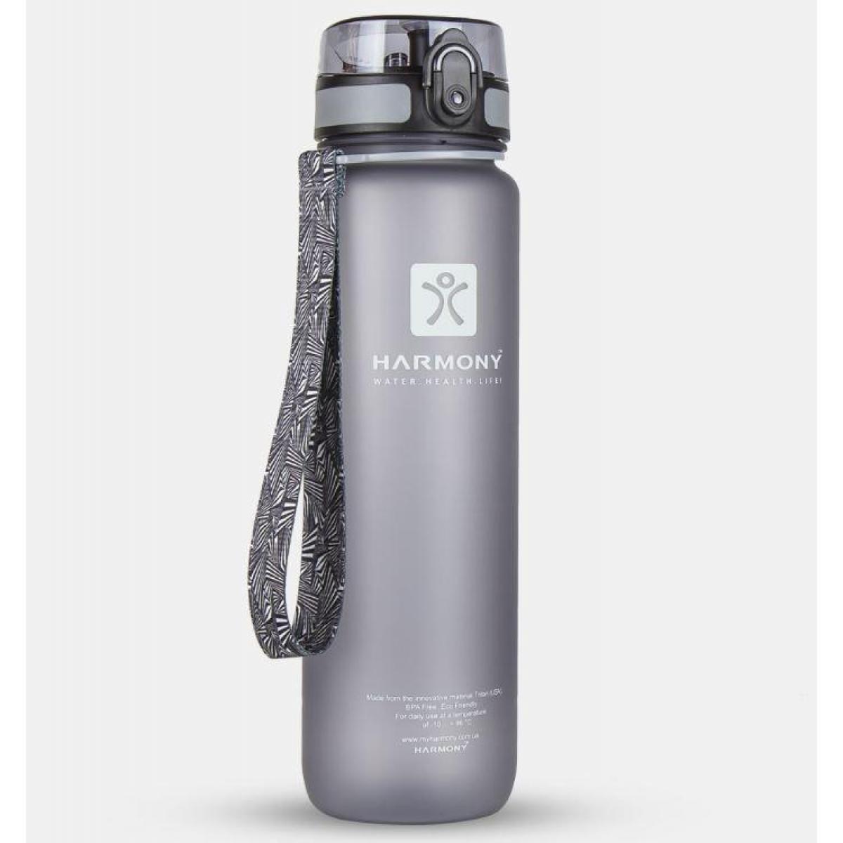 Пляшка для води Harmony 1 л, сіра