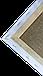 Набор холстов на подрамнике Factura 30х30 см 10 шт. Лён 500 г кв.м. среднее зерно, белый, фото 3