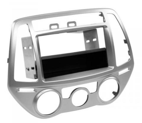 Рамка переходная ACV 281143-24-1 Hyundai i20 (PB Facelift)07/12->silver (Р19649)