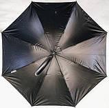 Зонт трость женский полуавтомат на 8 спиц. Цветной, фото 3