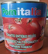 Томаты очищенные (помидоры пелати) в собственном соку 2500 гр. Pomodori Pelati ТМ Pomitalia (Италия)