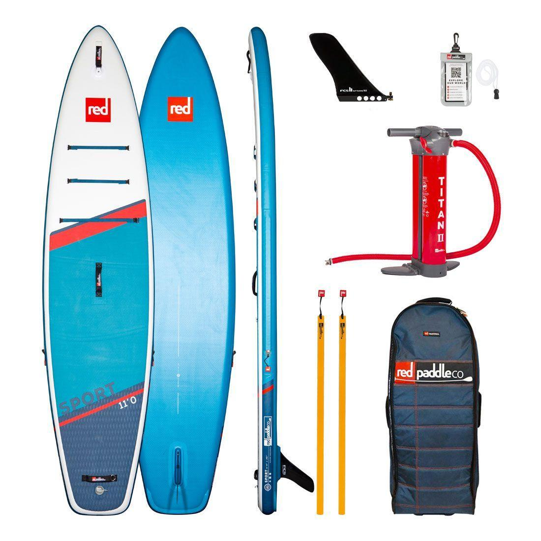 "Сапборд Red Paddle Co Sport 11'3"" x 32"" 2021 - надувна дошка для САП серфінгу, sup board"