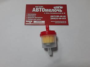 Фильтр топливный бензин под шланг на 6 мм