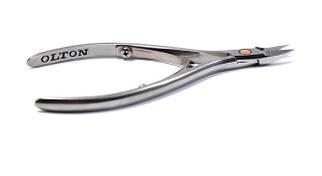 Кусачки для ногтей Olton XS + чехол кожаный