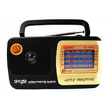 Радиоприемник аналоговый Kipo KB-408 220 Вольт. Черный