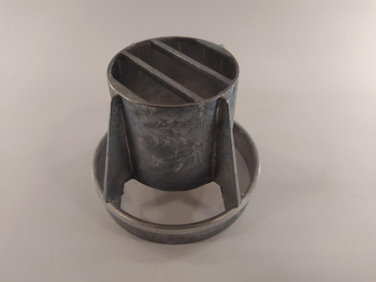 Наконечник 60/100 для коаксіального димоходу металевий