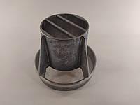 Наконечник 60/100 для коаксіального димоходу металевий, фото 1