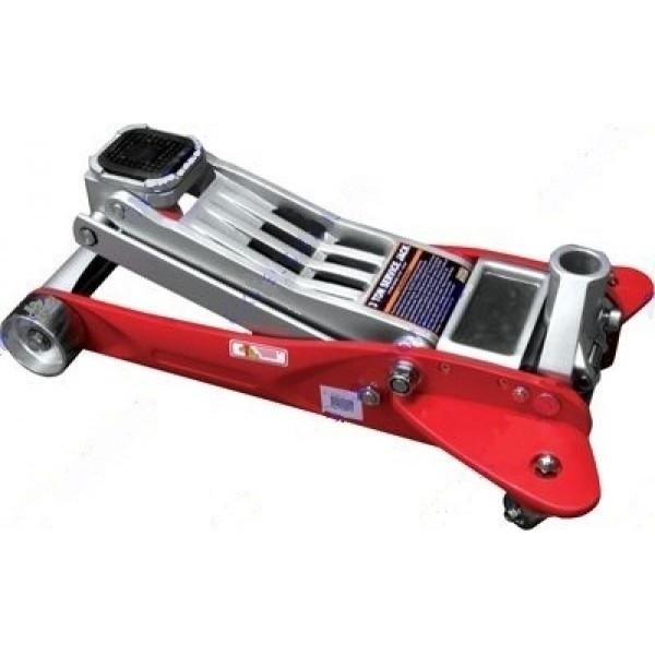 Домкрат гидравлический подкатной 2т, в чемодане 125-330 мм INTERTOOL GT0103W
