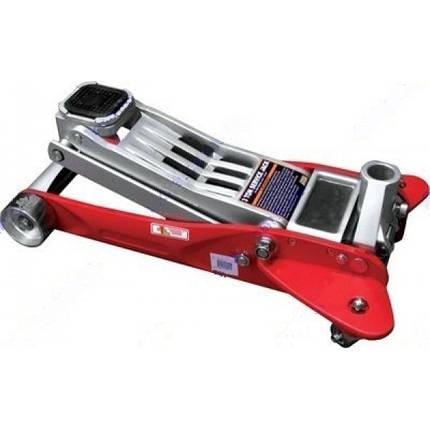 Домкрат гидравлический подкатной 2т, в чемодане 125-330 мм INTERTOOL GT0103W, фото 2