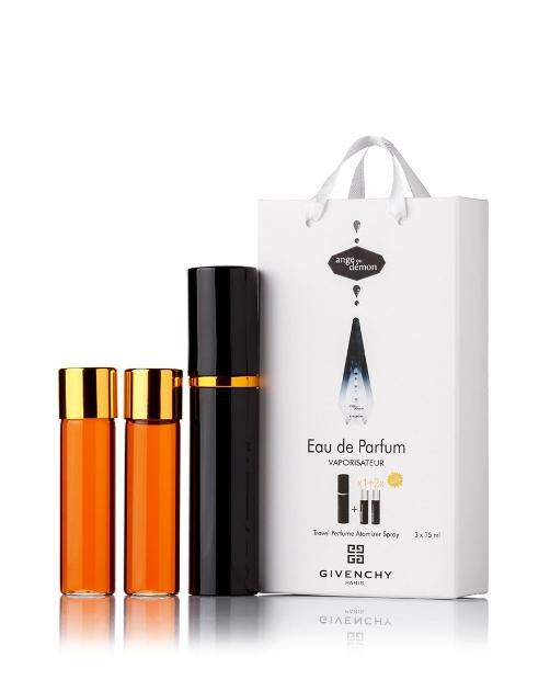 Подарочный парфюмерный набор с феромонами женский Givenchy Ange ou demon (Живанши Ангел и Демон) 3x15 мл