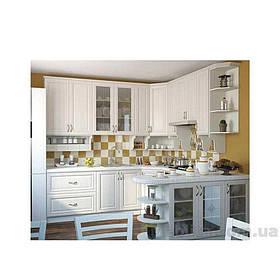 Кухня угловая «СОФИЯ» | фасад Клаccический | цвет: шпон белый Sokme