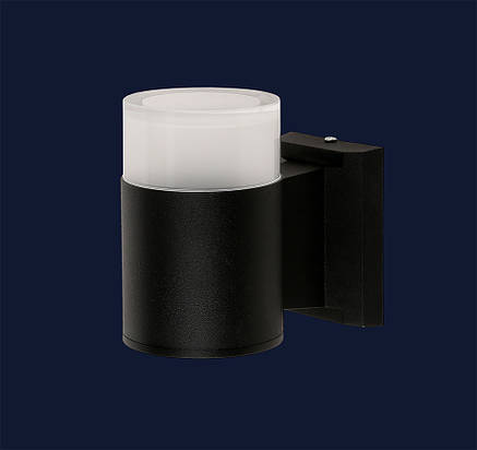 Настенный LED светильник 3W IP65 черный Levistella 767L540-WL-1 BK LED 3W, фото 2