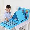 Набор для детского творчества в чемодане из 208 предметов | Набор для рисования с мольбертом