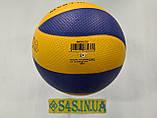 Мяч волейбольный Mikasa MVA330 PVC, фото 2
