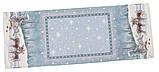 """Наперон\доріжка на стіл """"Полярна зірка"""", 45х140 див. люрекс, фото 2"""