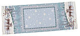 "Наперон\дорожка на стол  ""Полярная звезда"", 45х140 см. люрекс, фото 2"