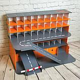 """Гараж Woodmax """"Nine""""  68х38х48 см серо-оранжевый, фото 2"""