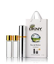 Подарочный парфюмерный набор с феромонами женский DKNY Be Delicious (Донна Каран Бай Делишес) 3x15 мл