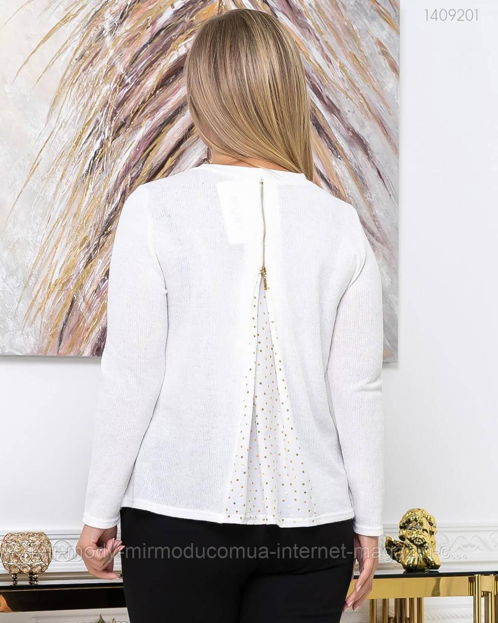 Стильный женский свитер из шерсти Лулео с 50 по 56 размер (пио)