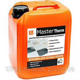 "Пластификатор для бетона ""теплый пол"" Coral Master Therm 5л"