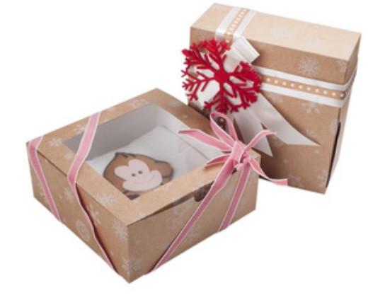 Новогодние коробки для кондитерских изделий