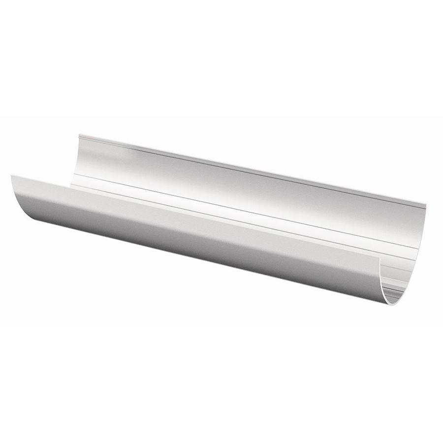 ТН ПВХ  желоб (3 м), (белый) / белый глянец