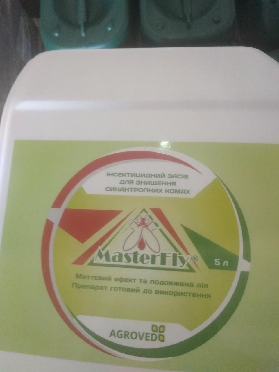 МастерФлай Гель (MasterFly Gel), инсектицид от мух, 5 л