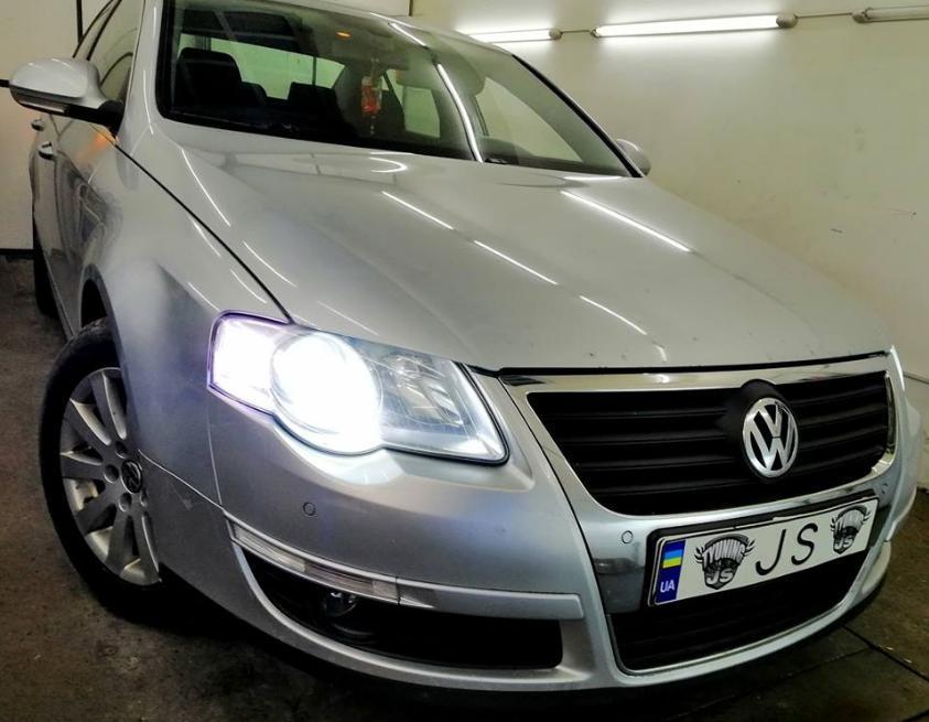 Установка ксенона Volkswagen Passat b6
