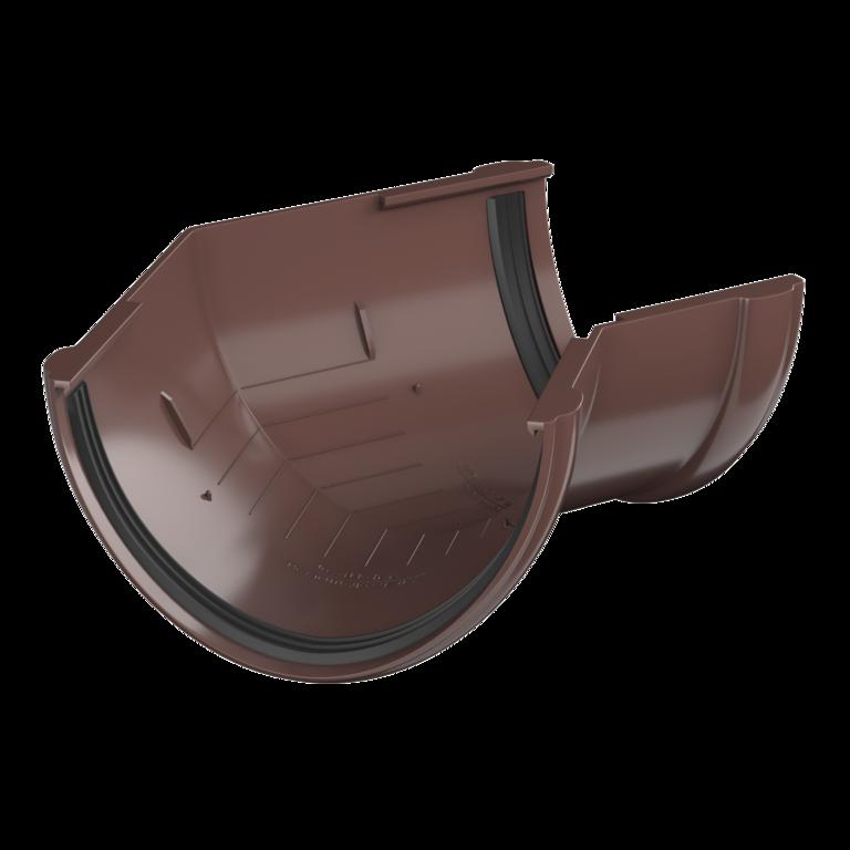 ТН ПВХ угол желоба 135°, коричневый