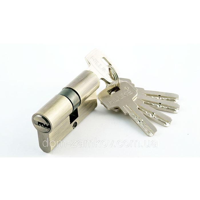 Цилиндр для замка Mortira zinc 60 30+30 AB computer keys