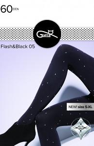 Колготи жіночі Flash&Black 60 Den. ТМ Gatta. Польша. Розмір: 2. 3. 4.