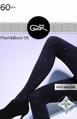 Колготи жіночі Flash&Black 60 Den. ТМ Gatta. Польща. Розмір: 2. 3. 4.