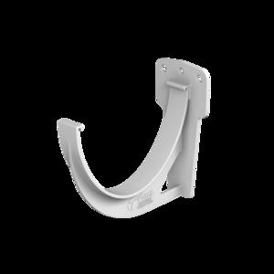 ТН ПВХ кронштейн желоба металлический, белый