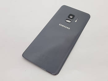 Крышка Samsung Galaxy S9 SM-G960F серая Сервисный оригинал с разборки
