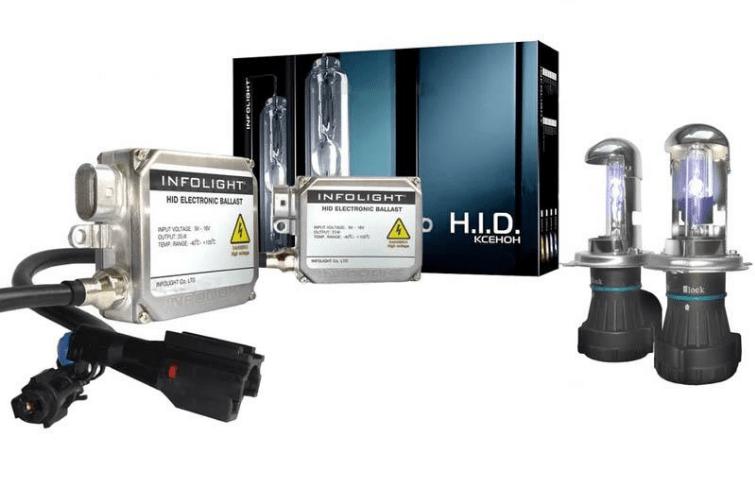 Биксеноновый комплект Infolight  PRO H4 5000K 35W (P101127)