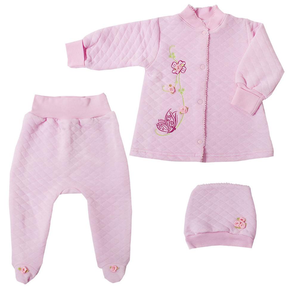 Детский костюм для девочки *Флорис* в подарочной упаковке (3 предмета)