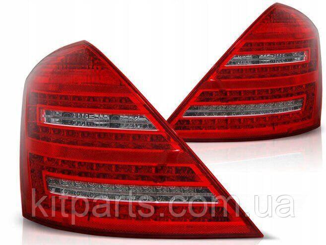Задние фонари стопы оптика на Mercedes-Benz S-Class W221 2006-2013