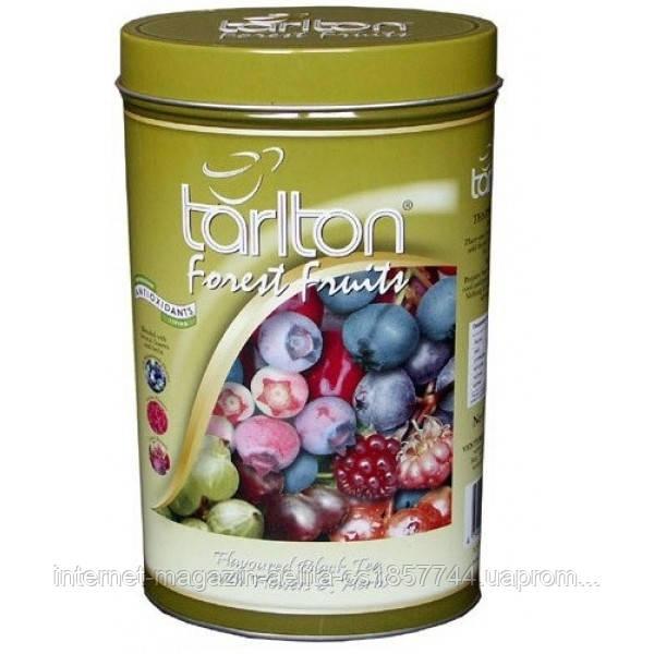 Чай чорний Тарлтон Лісова ягода 100 гр з/б