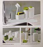 Органайзер для ванной комнаты Sіnk Tіdy Sеy Аs Sееn (салатовый,розовый,голубой, синий), фото 2