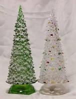 Набор Новогодних светящихся ёлочек 32 см